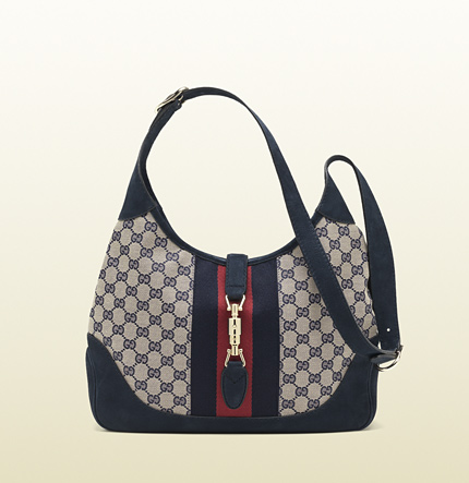 Gucci jackie original GG canvas shoulder bag