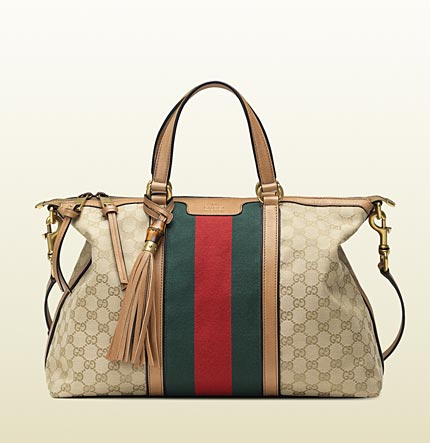 Gucci rania top handle original GG canvas bag