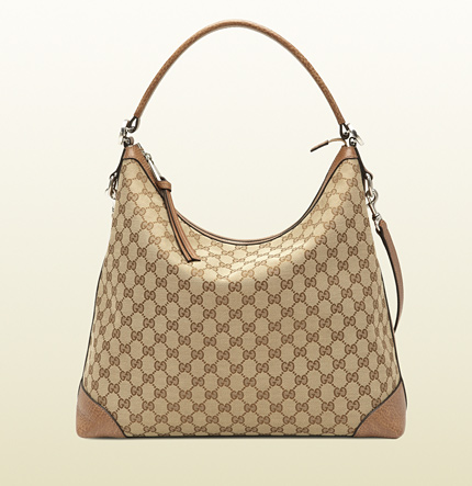Gucci miss GG original GG canvas hobo