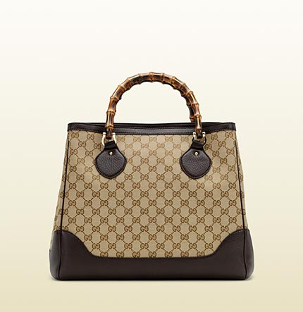 Gucci diana bamboo handle tote