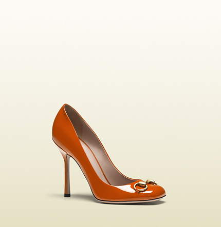 Gucci jolene patent leather pump