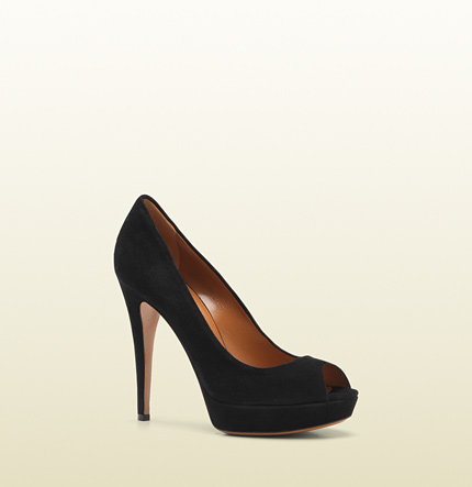 Gucci betty open-toe high heel platform pump
