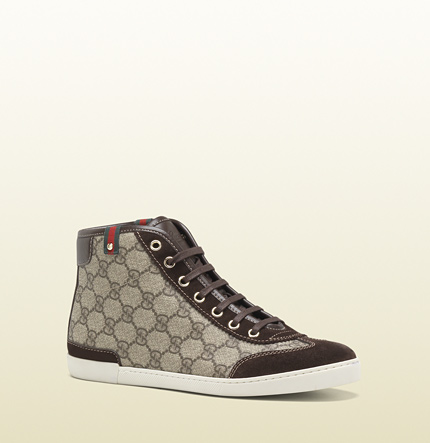 Gucci barcelona mid-top lace-up sneaker