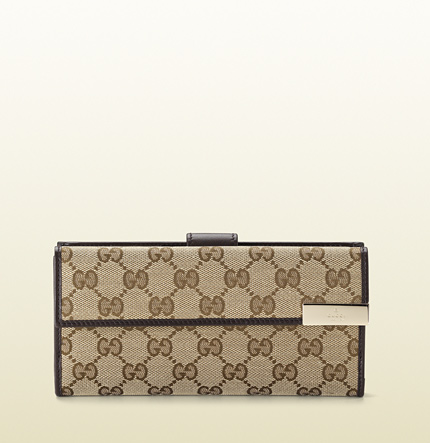 Gucci gucci trademark continental wallet