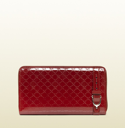 Gucci gucci nice microguccissima zip around wallet