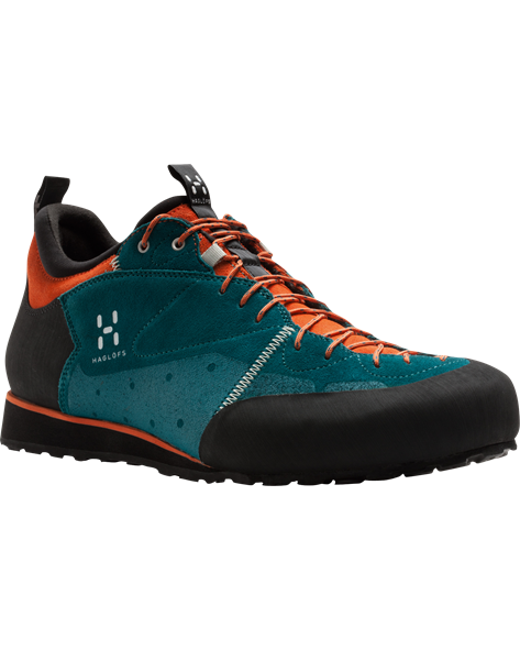 HAGLOFS MEN ROC LEGEND teal blue/orange rush