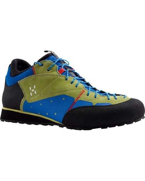 HAGLOFS WOMEN ROC LEGEND Q budgie green/azure blue