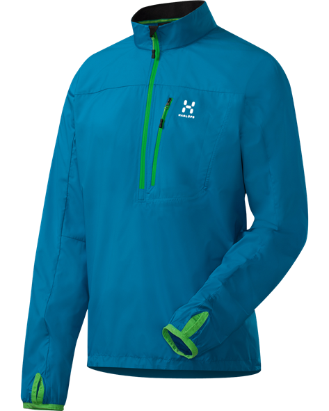 HAGLOFS MEN SHIELD PULLOVER oxy blue