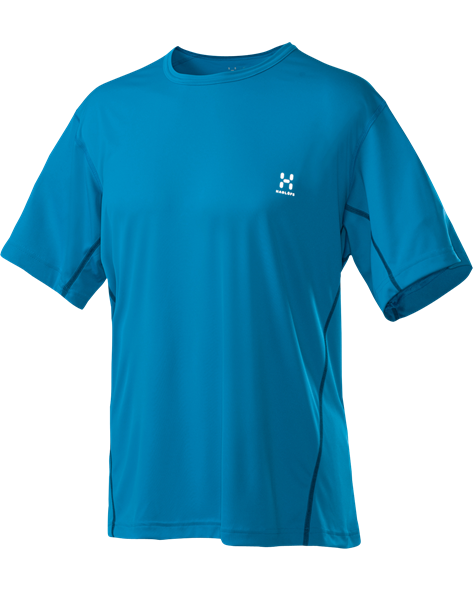 HAGLOFS MEN PULS TEE oxy blue