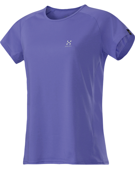 HAGLOFS WOMEN NANTA Q TEE flash lilac