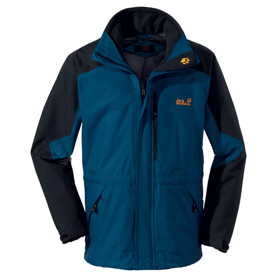 JACK WOLFSKIN MEN BLACK RANGE ENSIGN BLUE