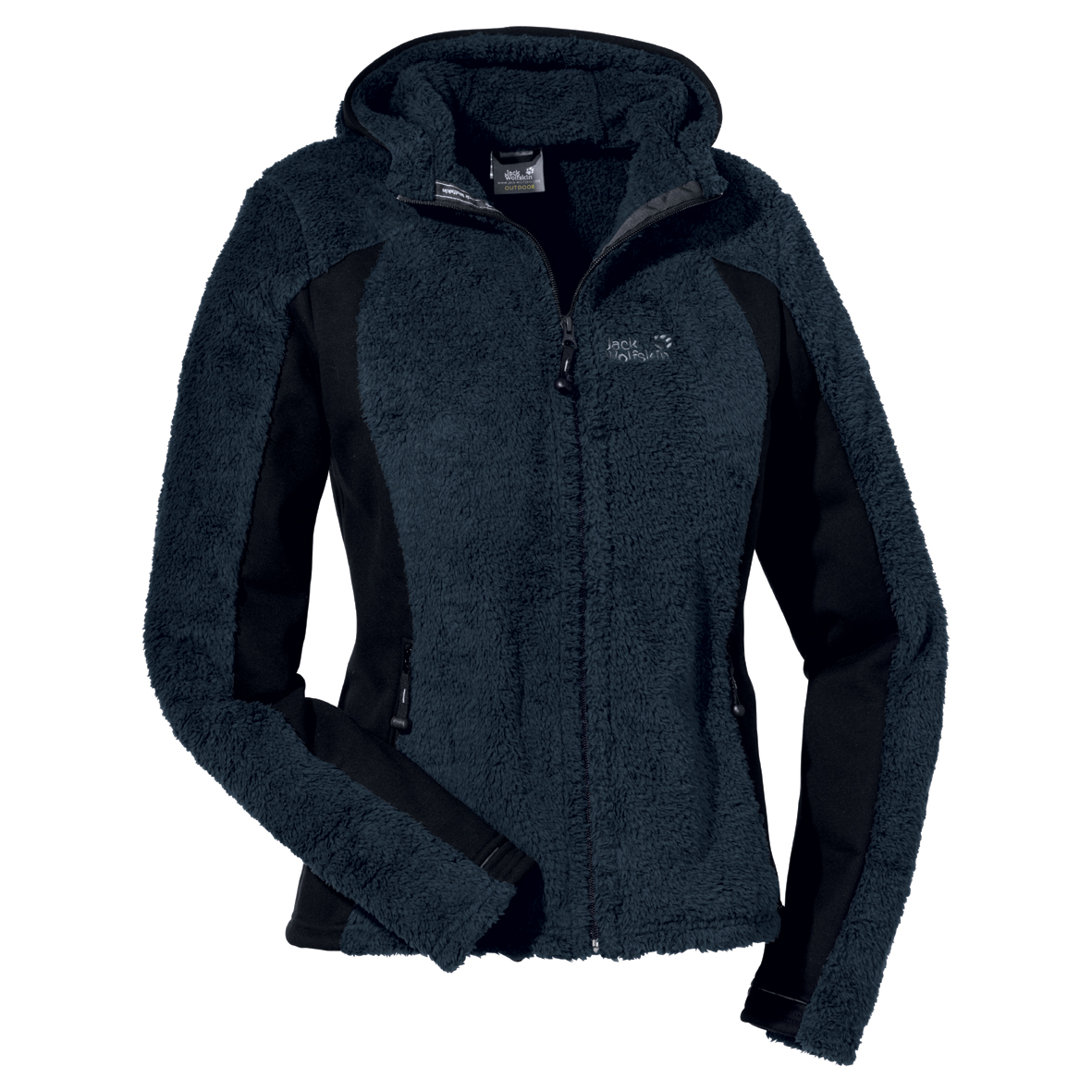 JACK WOLFSKIN WOMEN KIANA JACKET BLUE GRAPHITE