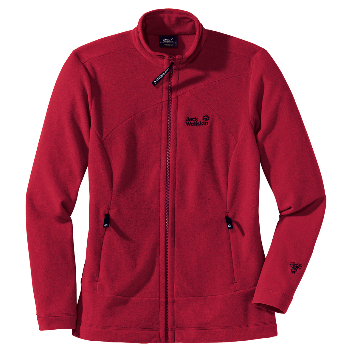 JACK WOLFSKIN WOMEN TARFALA JACKET INDIAN RED