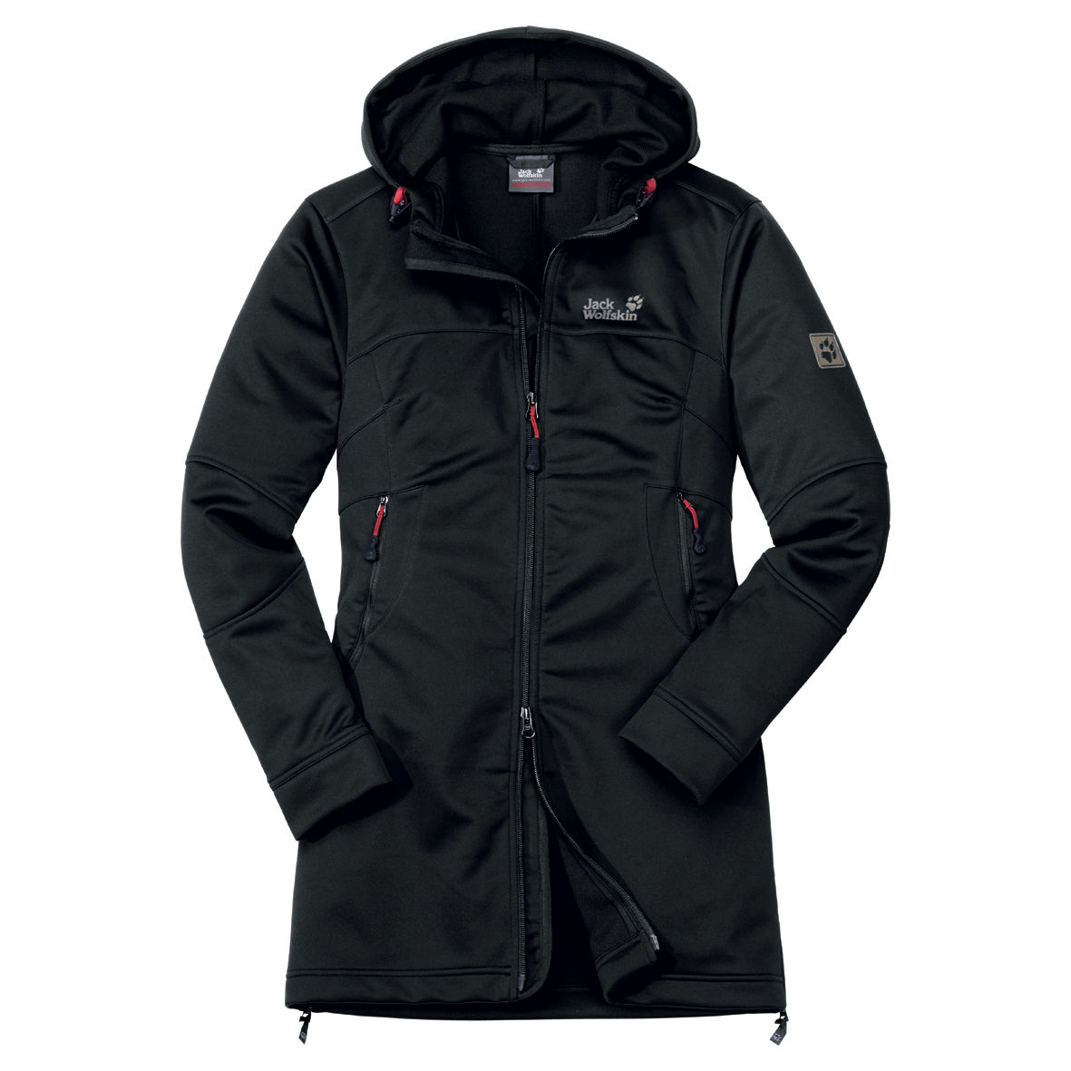JACK WOLFSKIN WOMEN SONIC YOUTH COAT BLACK