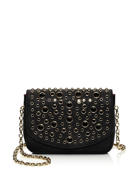 JUICY COUTURE BAG SOPHIA MINI WITH STONES Black