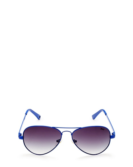 JUICY COUTURE SUNGLASSES CLASSIC AVIATOR Royal Blue