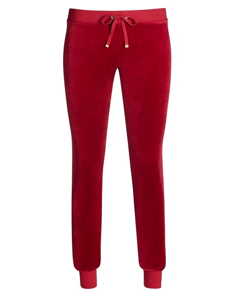JUICY COUTURE PANT VELOUR MODERN SLIM Well Coiffed