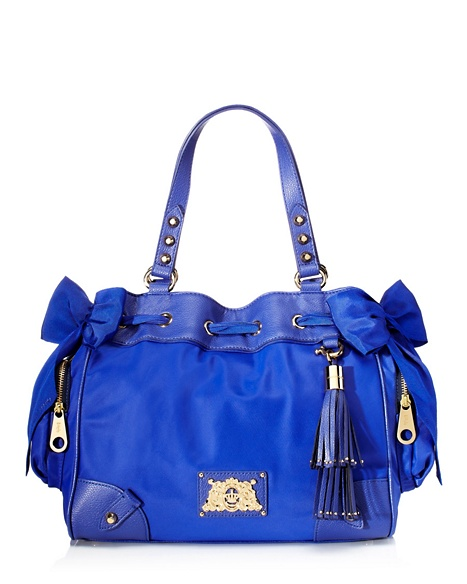 JUICY COUTURE NYLON DAYDREAMER Avery Blue