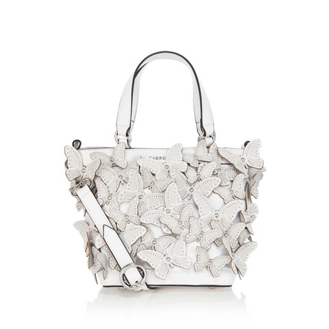 KAREN MILLEN BUTTERFLY CUTWORK BABY BAG