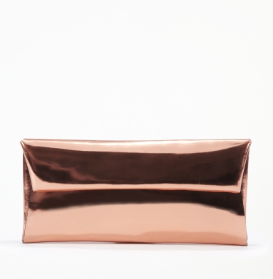 Kenneth Cole New York Spec-Tac-Ular Clutch ROSE GOLD