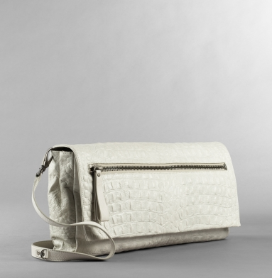 Kenneth Cole New York Zip It To Me Clutch CEMENT