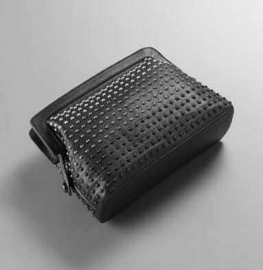 Kenneth Cole New York Soul Stud Clutch BLACK
