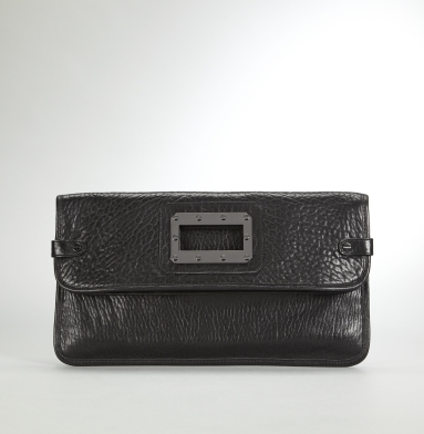 Kenneth Cole New York Bolt It Out Clutch BLACK