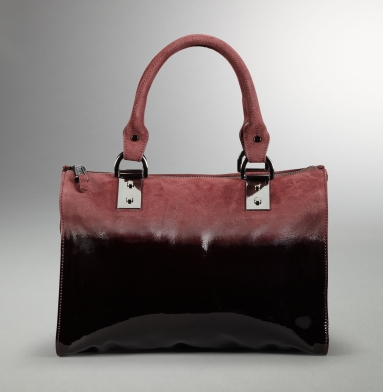 Kenneth Cole New York Boxing Day Satchel BURGUNDY