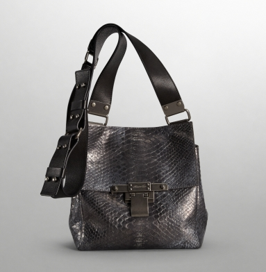 Kenneth Cole New York Simply Riveting Cross-Body Bag PEWTER