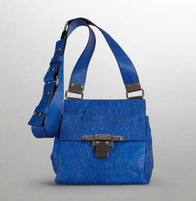 Kenneth Cole New York Simply Riveting Cross-Body Bag BLUE