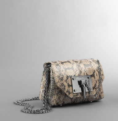 Kenneth Cole New York Linked In Crossbody Bag STONE