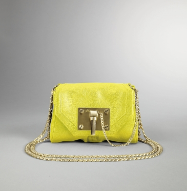 Kenneth Cole New York Linked In Cross-Body Bag CITRON