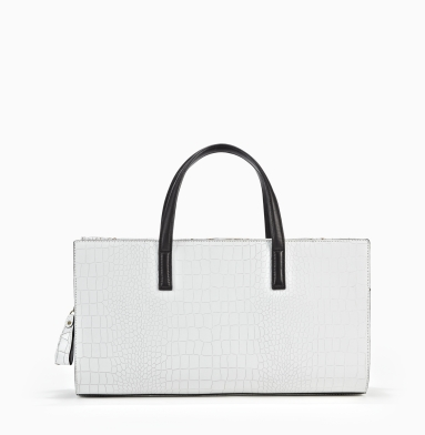 Kenneth Cole New York Soft Sided Satchel WHITE