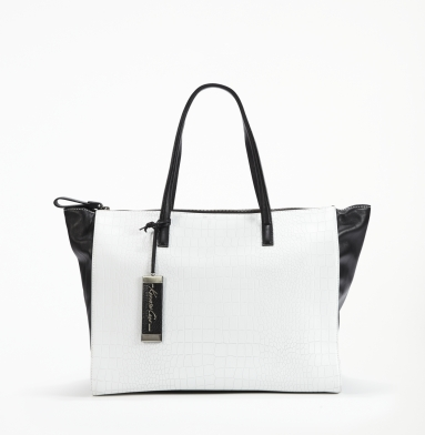 Kenneth Cole New York Soft Sided Tote WHITE