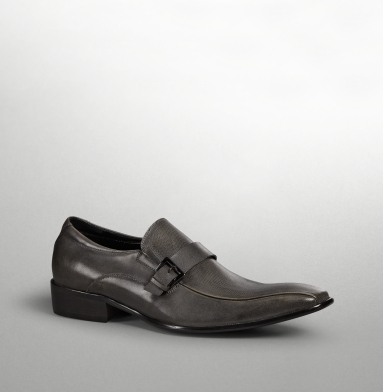 Kenneth Cole Collection Checks N Balances Loafer GREY