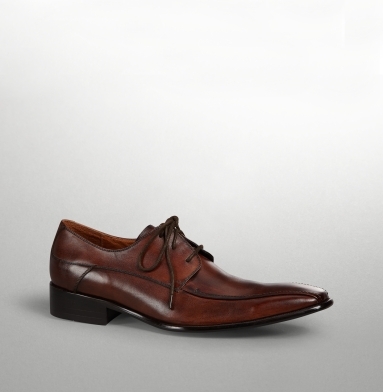 Kenneth Cole New York Cut The Check Oxford COGNAC