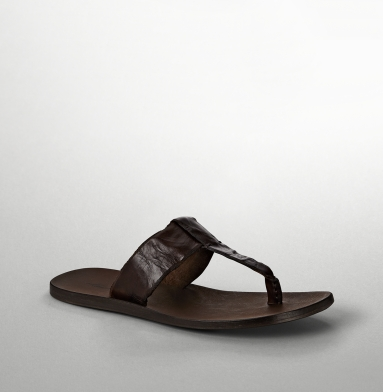 Kenneth Cole New York Sand Storm Sandal BROWN