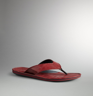 Kenneth Cole Reaction Brain Wave Sandal RED