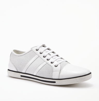 Kenneth Cole New York Down-Load Sneaker WHITE