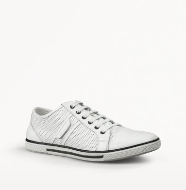 Kenneth Cole New York Down N Up Sneaker WHITE
