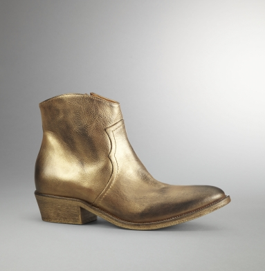Kenneth Cole Collection Bootieful Bootie GOLD