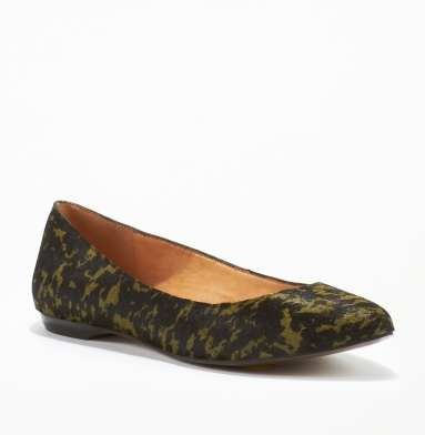 Kenneth Cole New York Take Chances Flat MILITARY