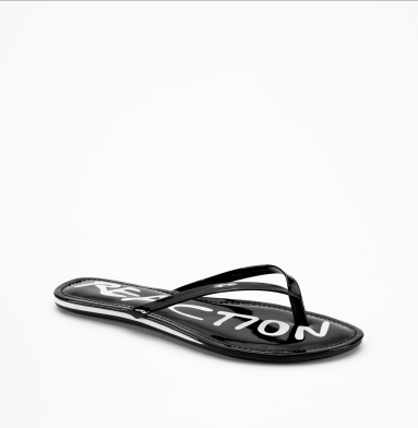 Kenneth Cole Reaction Tiki Harbor Sandal BLACK