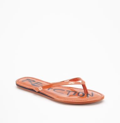 Kenneth Cole Reaction Tiki Harbor Sandal ORANGE