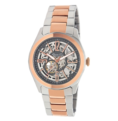 Kenneth Cole New York Automatic Watch With Two-Tone Link Strap