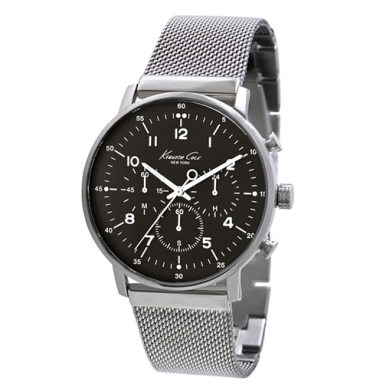 Kenneth Cole New York Chronograph Watch With Mesh Strap