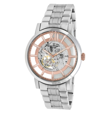 Kenneth Cole New York Automatic Watch With Rose Gold Accents