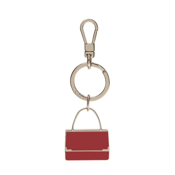 Lancel Key Ring RED