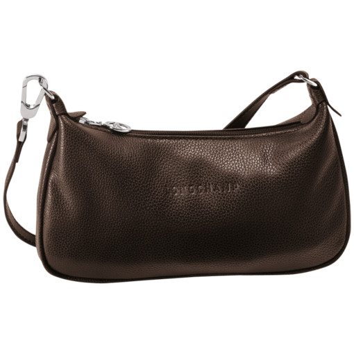 Longchamp Veau Foulonne Clutch bag Mocha