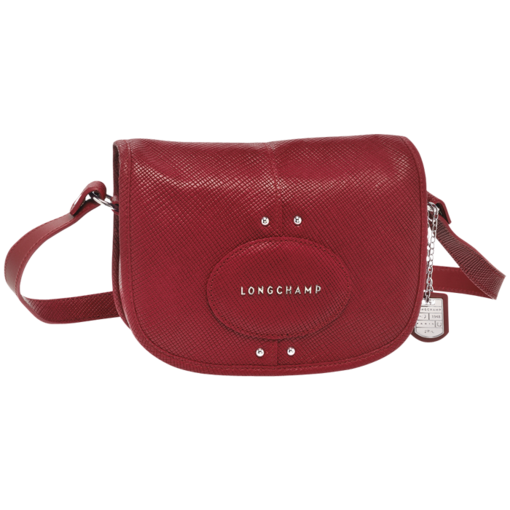 Longchamp Quadri Messenger bag Carmine